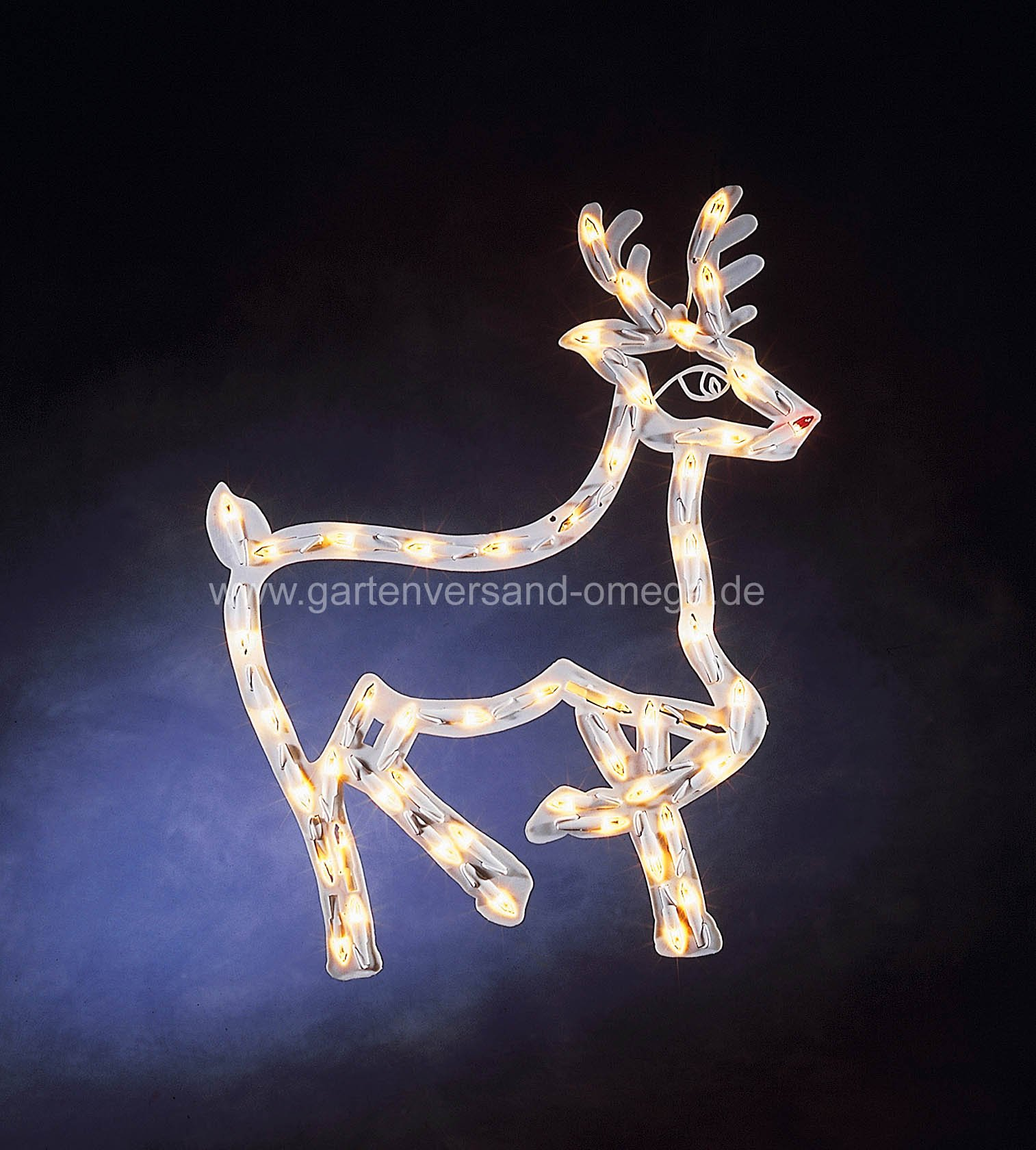 fenstersilhouette rentier weihnachtsbeleuchtung mit rentier weihnachtliche fensterbilder. Black Bedroom Furniture Sets. Home Design Ideas