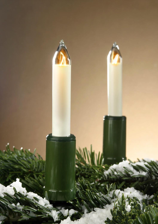 au enlichterkette lang wei e lichterkette weihnachts schaftkerzenkette au enbeleuchtung. Black Bedroom Furniture Sets. Home Design Ideas