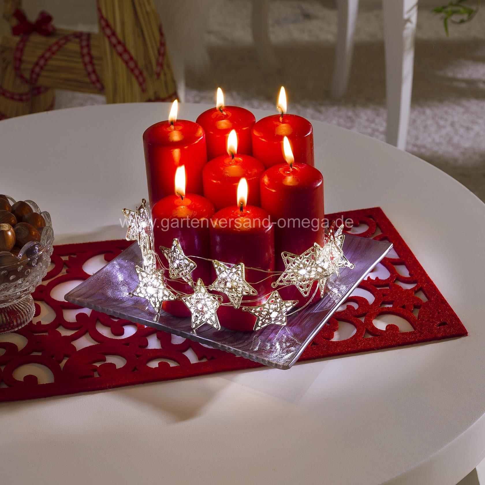 led metallsternlichterkette golden led lichterkette mit goldenen metallsternen dekoration in. Black Bedroom Furniture Sets. Home Design Ideas