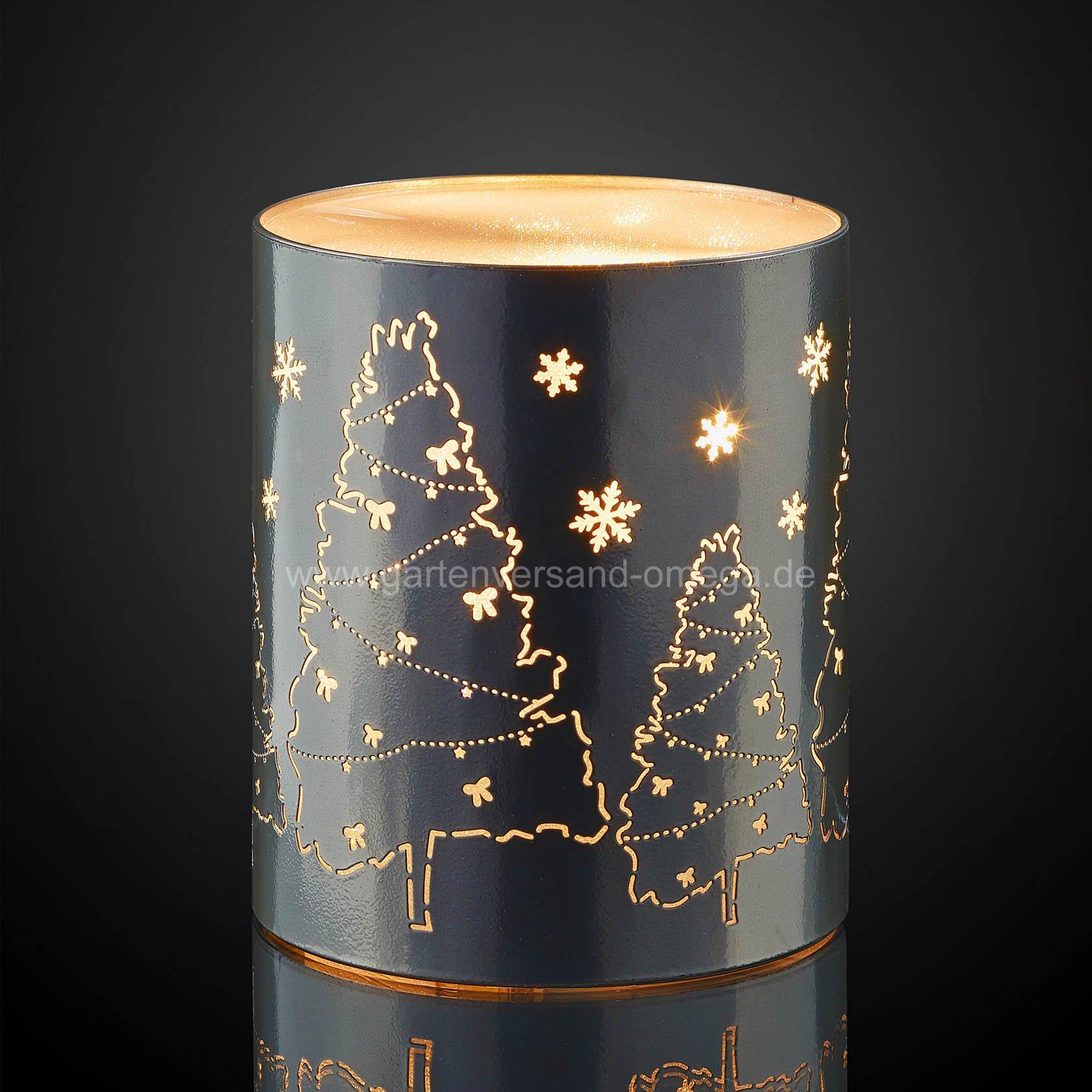 led metall dekos ule weihnachtsb ume und schneeflocken. Black Bedroom Furniture Sets. Home Design Ideas