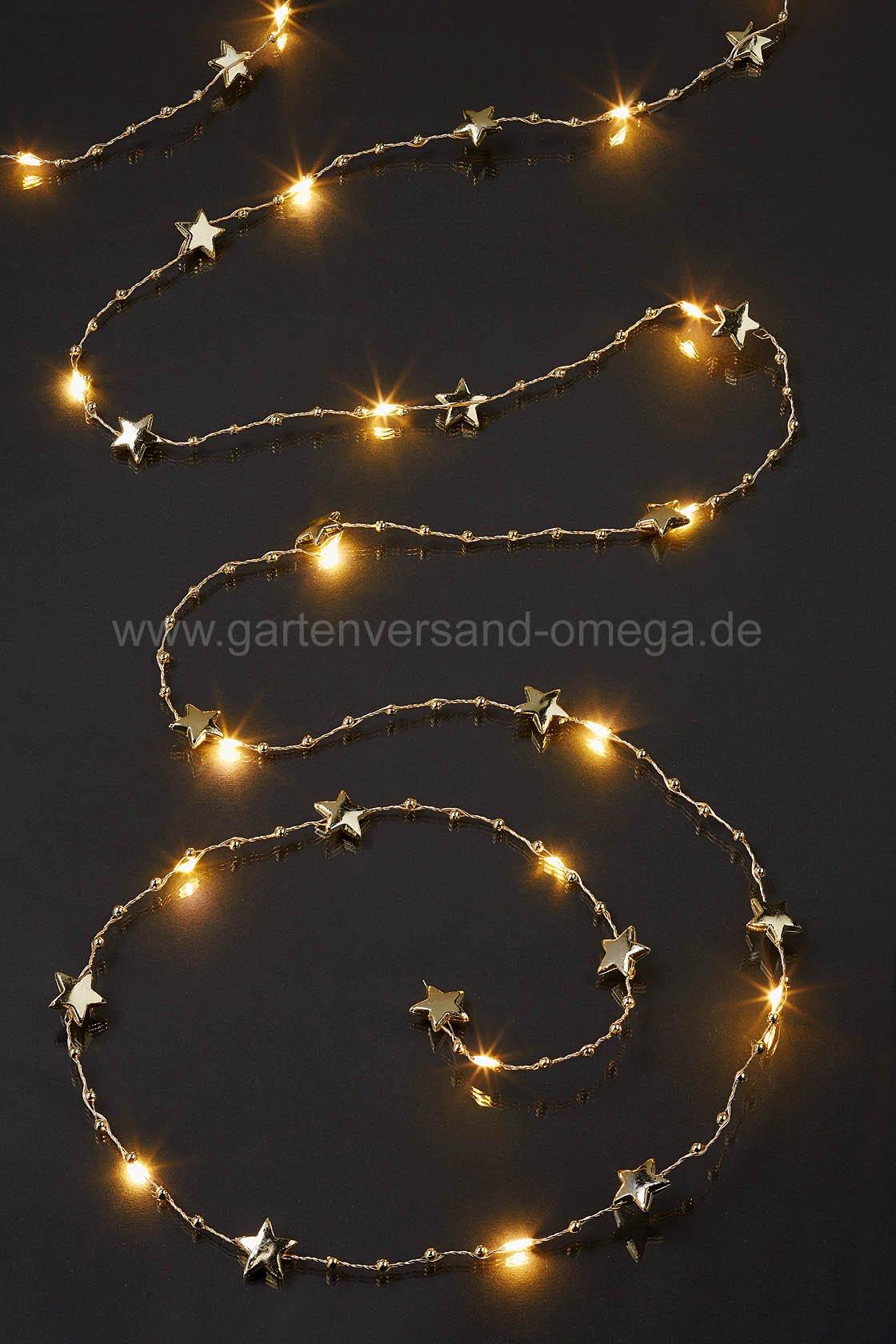 led sternenlichterkette lichterkette mit sternen schmucklichterkette weihnachtsbeleuchtung. Black Bedroom Furniture Sets. Home Design Ideas