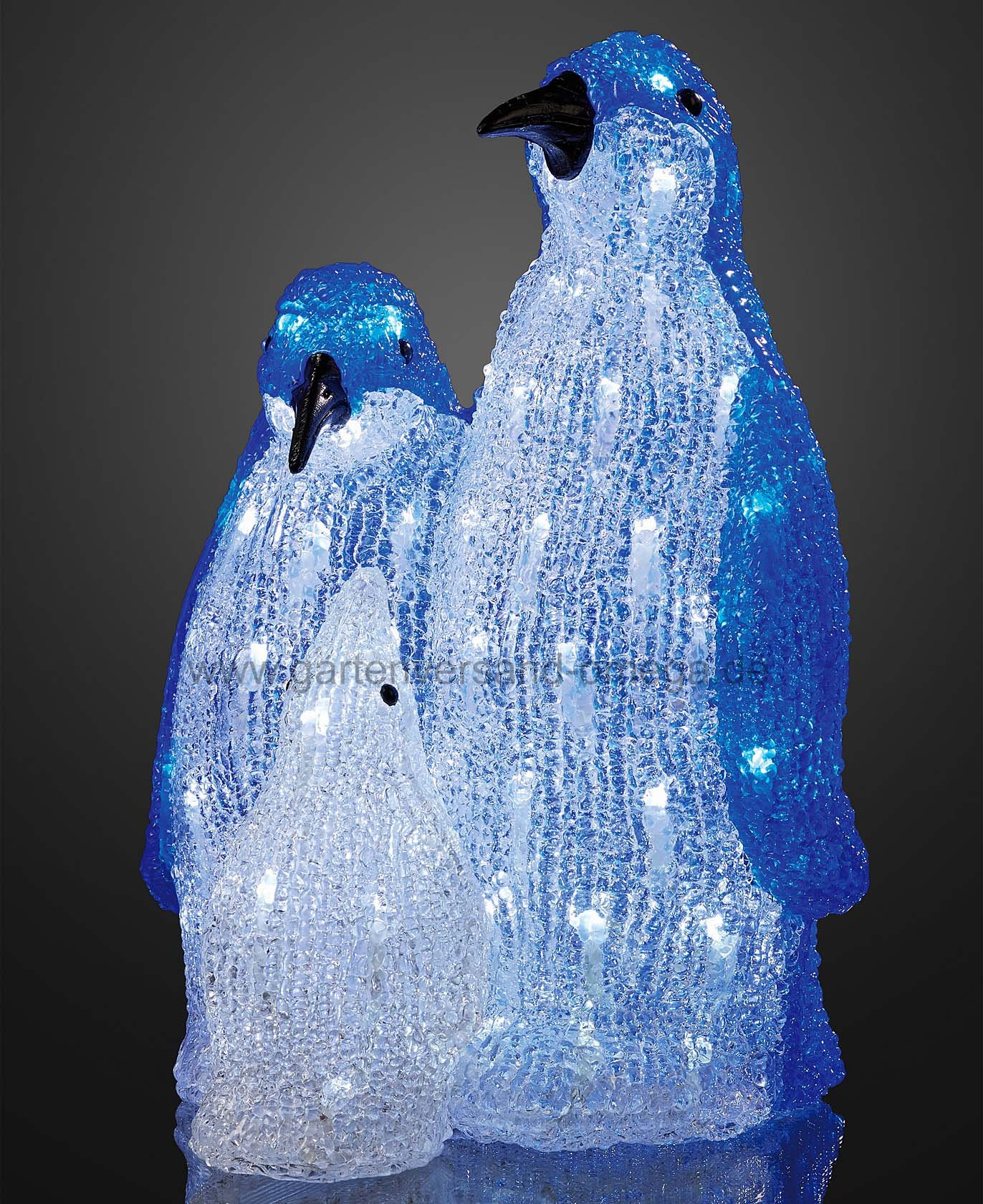 led pinguin familie led pinguin acrylfiguren. Black Bedroom Furniture Sets. Home Design Ideas