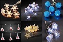led weihnachtsbeleuchtung led lichterketten led dekolichterketten led kerzen led figuren. Black Bedroom Furniture Sets. Home Design Ideas