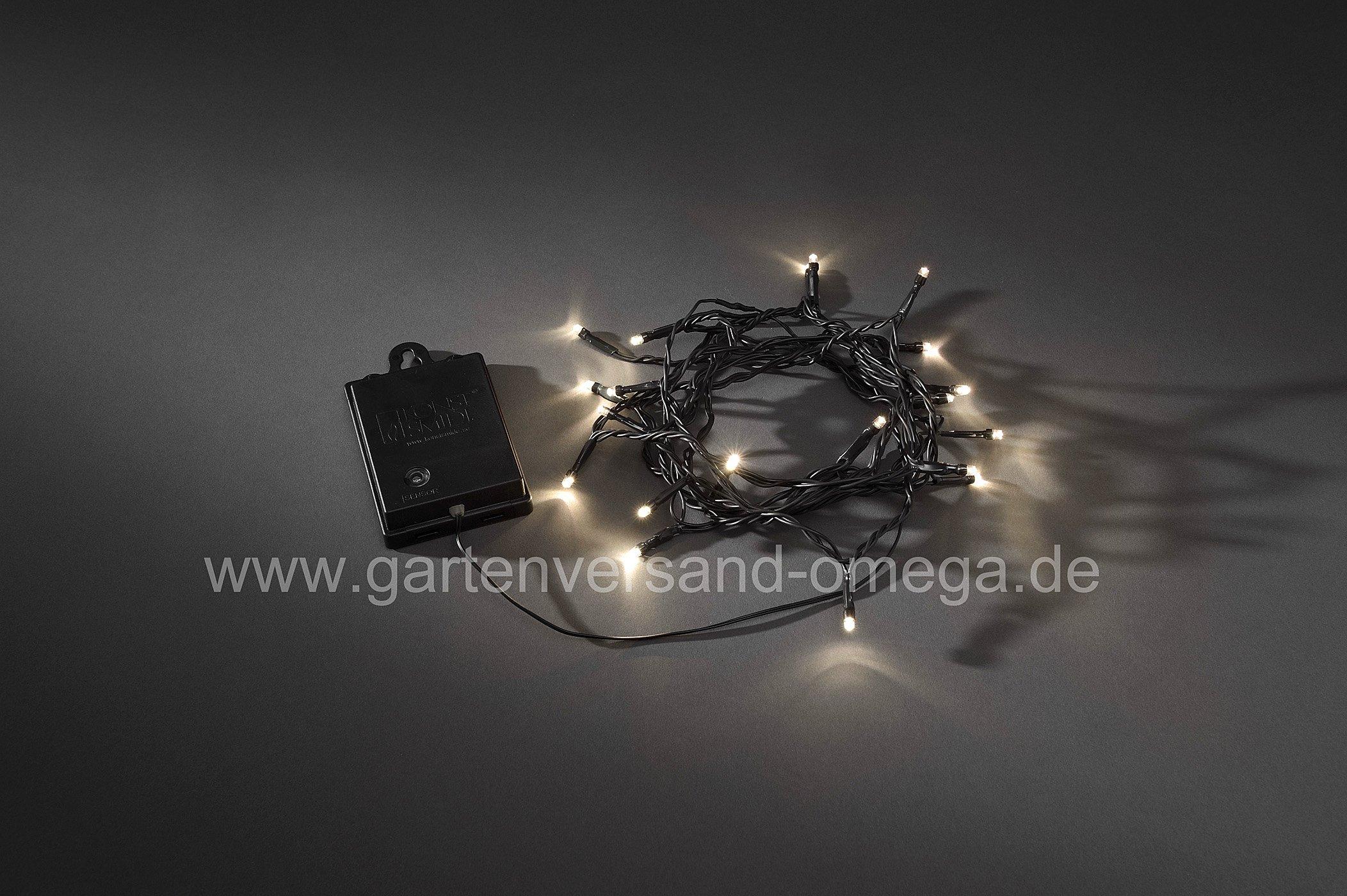 Batteriebetriebene lichterkette f r au en lichterkette - Weihnachtsbeleuchtung ohne kabel ...