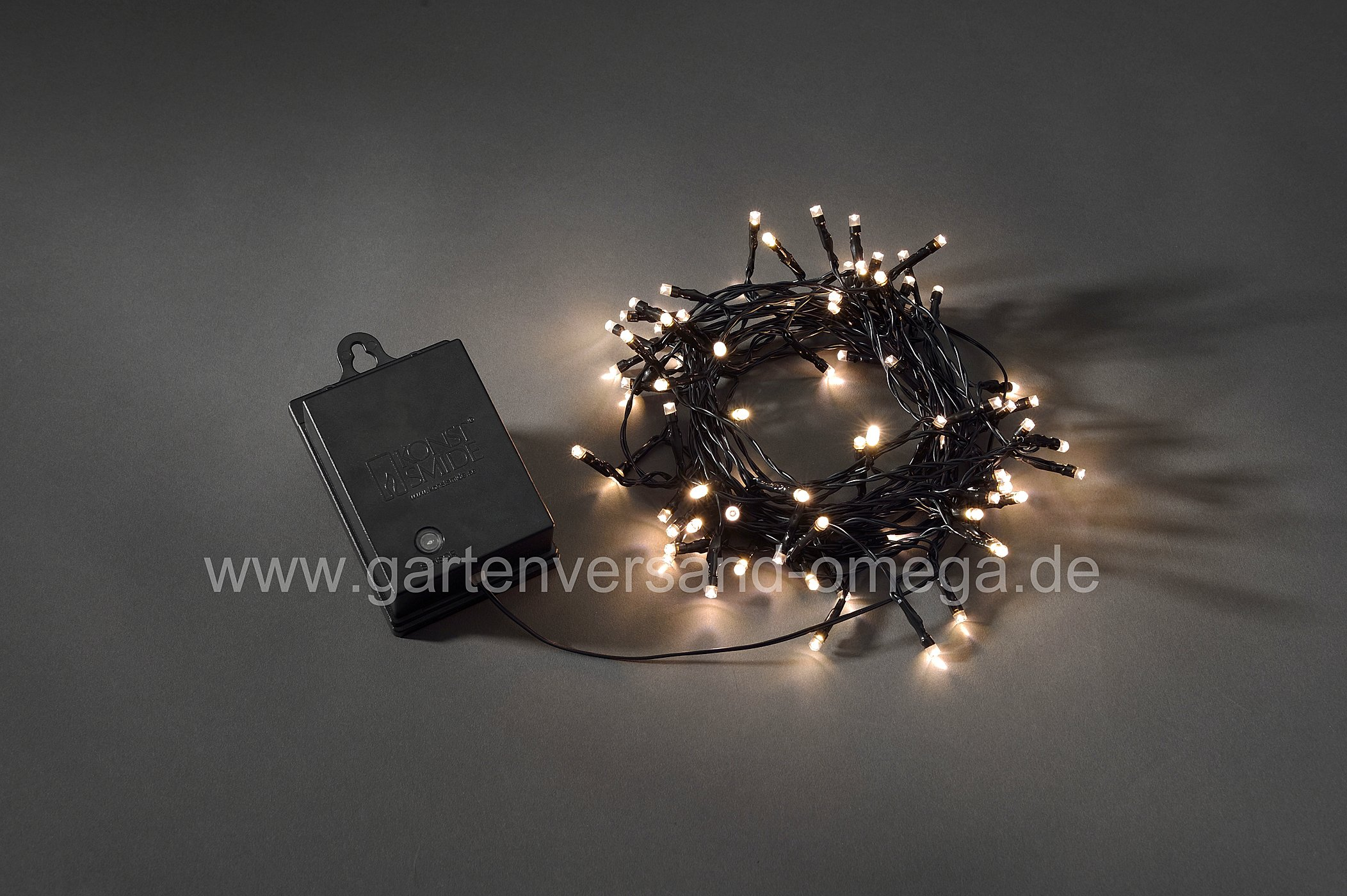 batteriebetriebene led au enlichterkette mit lichteffekten lichterkette f r drau en mit. Black Bedroom Furniture Sets. Home Design Ideas