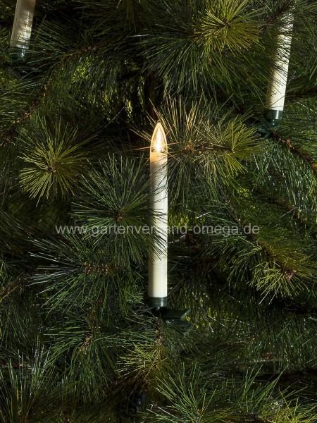 Weihnachtsbeleuchtung Innen Kerzen.Kabellose Lichterkette Für Außen
