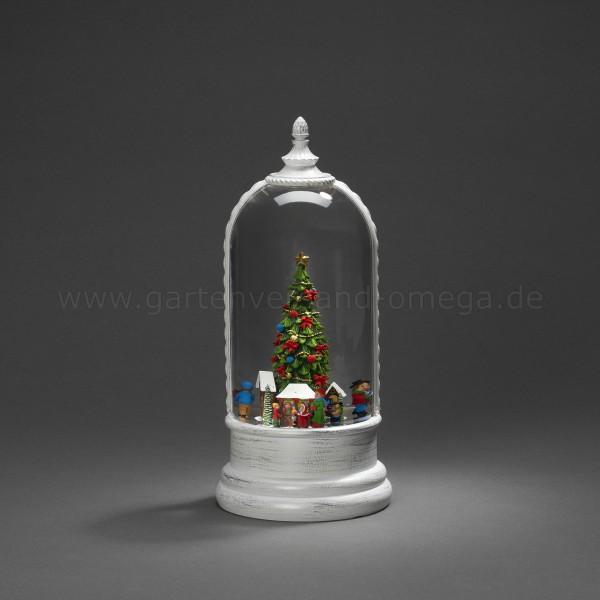 Wassergefüllte LED Kuppellaterne Weihnachtsmarkt