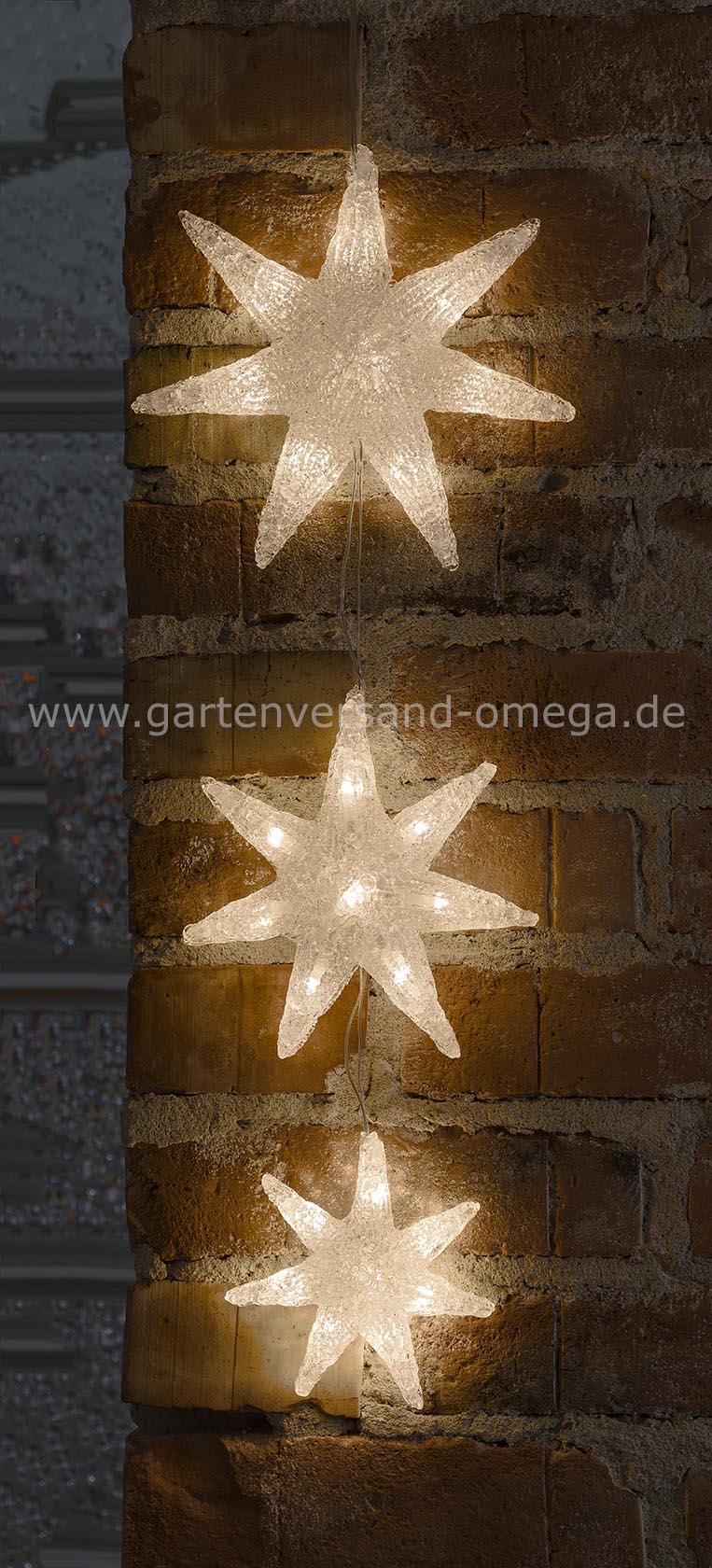 Led fensterdekoration sternvorhang fenster beleuchten weihnachten lichtervorhang - Fensterbeleuchtung innen ...