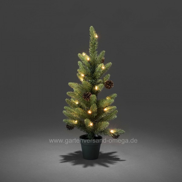 Batteriebetriebener LED-Weihnachtsbaum 60cm für Außen