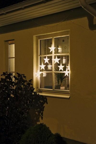 Weihnachtlicher LED-Vorhang