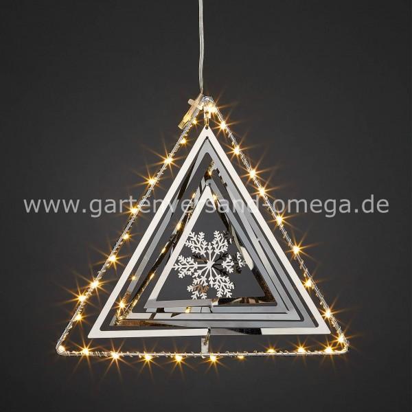 LED 3D Metall-Dreieck