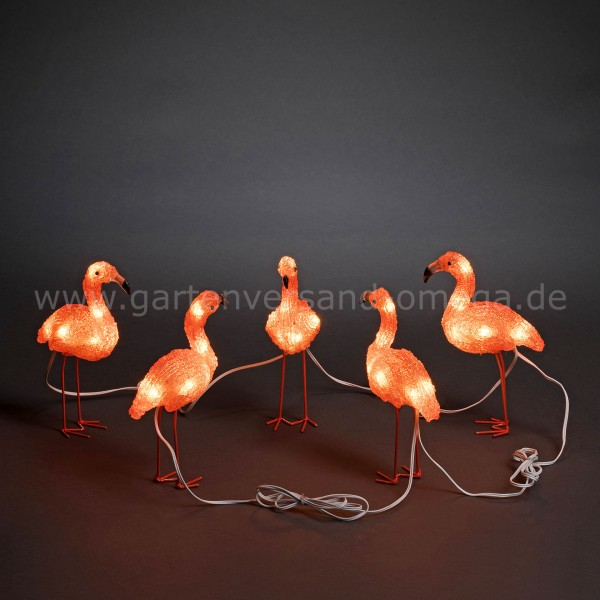 LED Acryl-Flamingos