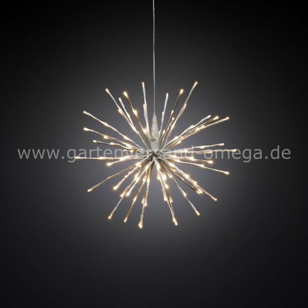 LED Stern-Lichterball Weiß