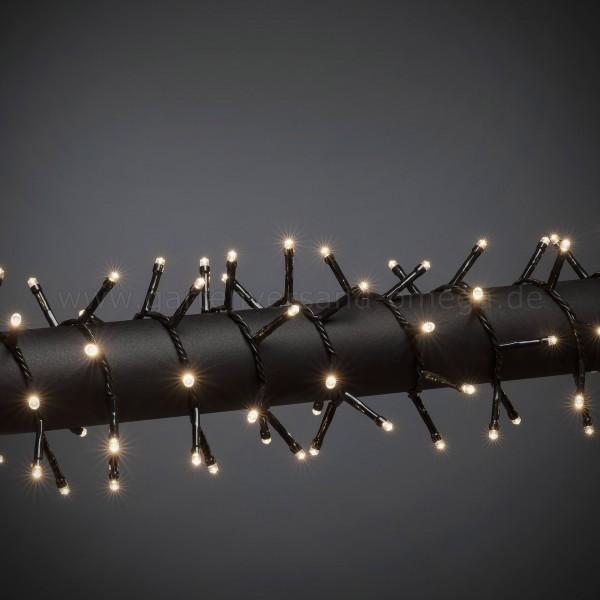 LED Compactlights-Lichterkette für Außen Warm-Weiß