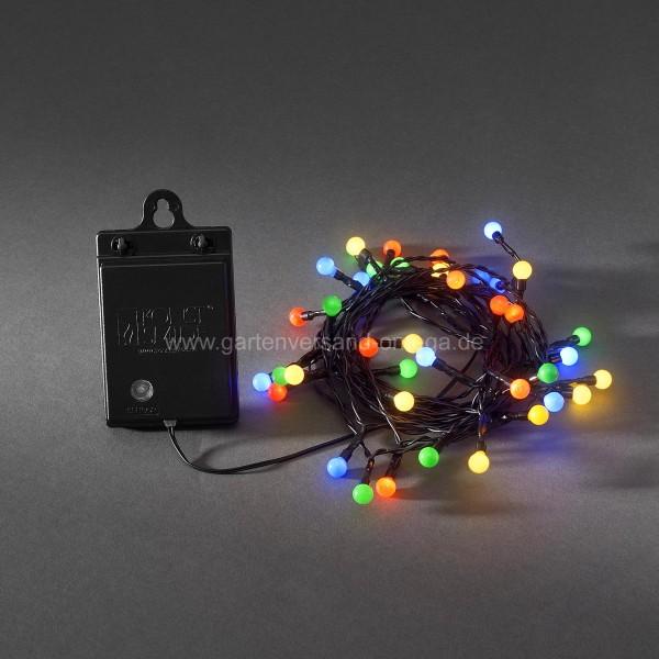 LED Lichterkette Batteriebetrieben für Aussen Bunt