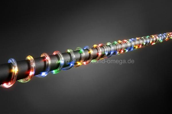 LED Lichterschlauch Batteriebetrieben Bunt