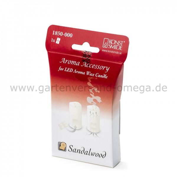 Duftpad Sandelholz für LED-Duftkerze