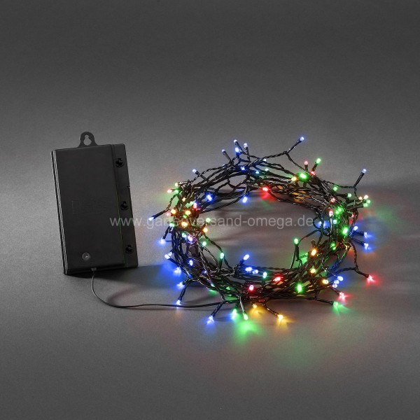 Weihnachtsbeleuchtung Für Aussen Led.Bunte Led Lichterkette Für Außen Batteriebetrieben