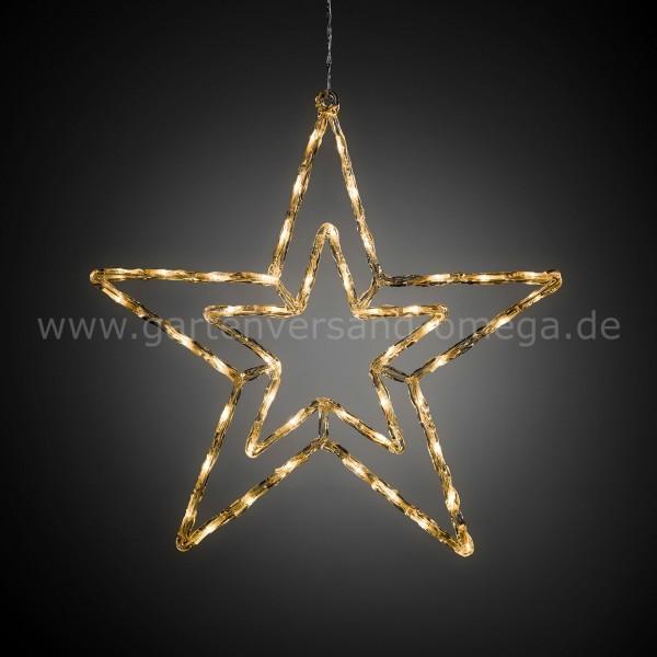 LED-Acrylsilhouette mit Lichtfunktionen Stern