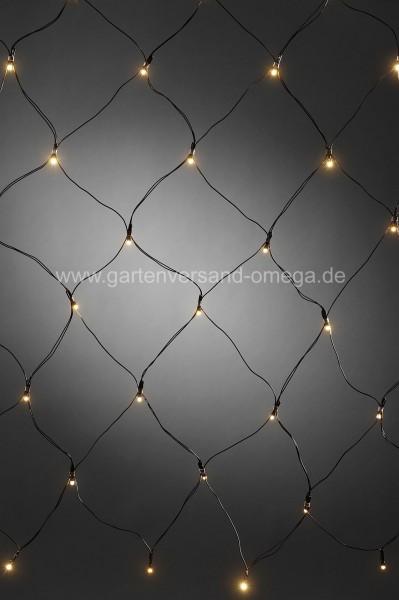 Batteriebetriebenes LED-Lichternetz 40-flammig
