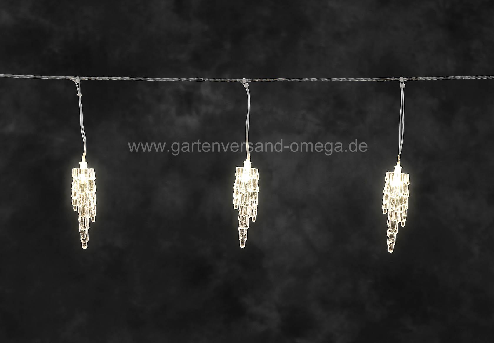 led eiszapfen lichtervorhang lichtdekoration f r au en weihnachtsaussenbeleuchtung. Black Bedroom Furniture Sets. Home Design Ideas