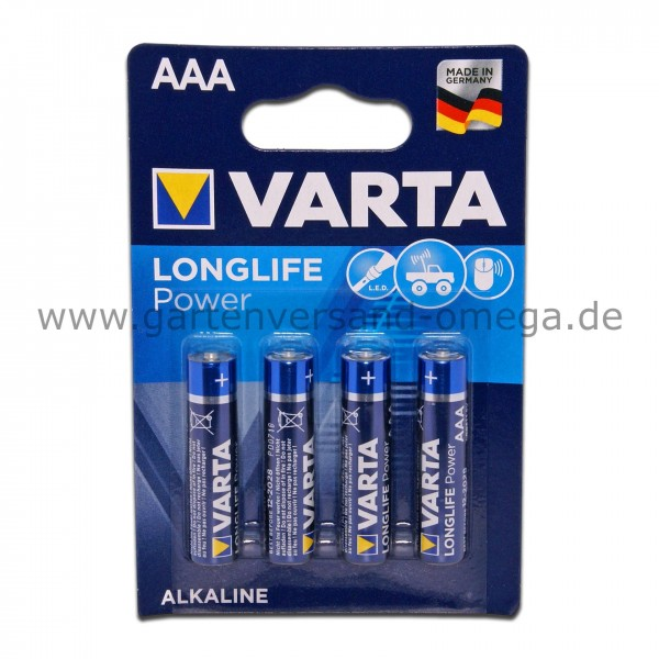 Varta Batterie Longlife Power AAA Micro