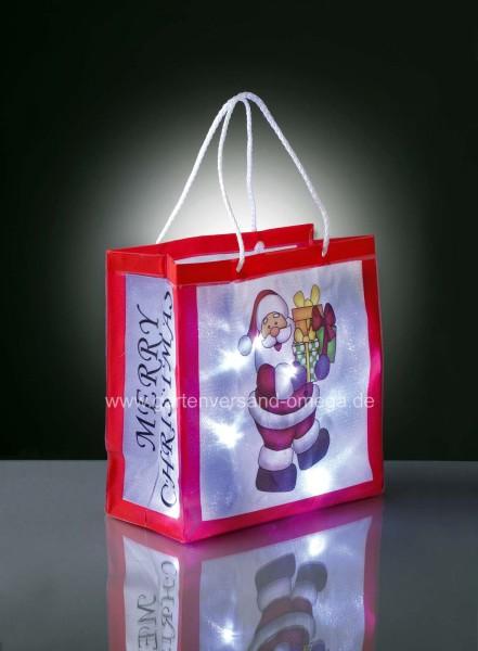 Batteriebetriebene LED-Weihnachtsdekoration Motiv Weihnachtsmann