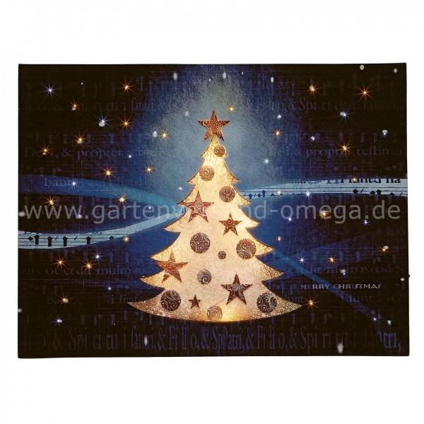 LED-Fiberoptikbild Weihnachtsbaum