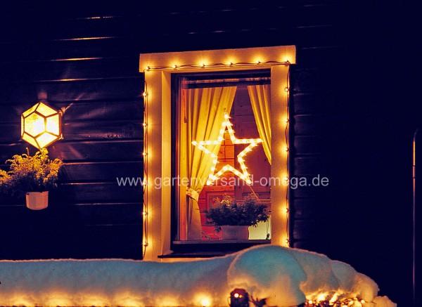 Weihnachtliche Fensterbilder Motiv Stern