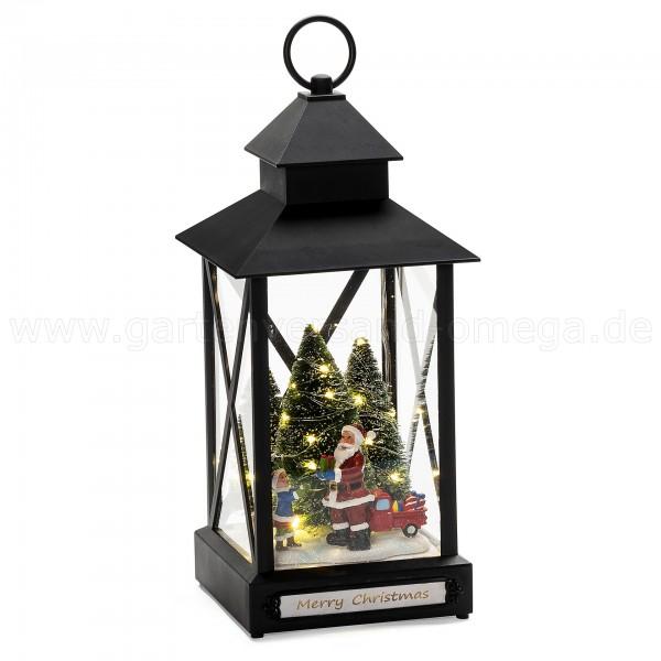 LED-Laterne für Außen Weihnachtsmann