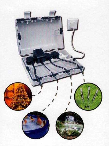Außenbeleuchtungszubehör Kabelsafe-Box