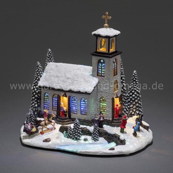 LED Fiberoptikszenerie Kirche
