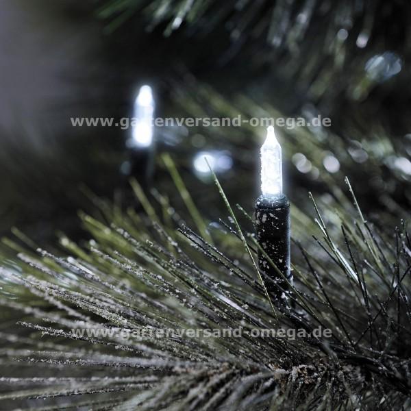 LED Minilichterkette für den Garten