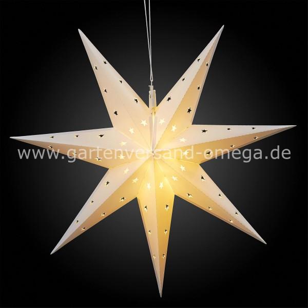 LED Outdoor-Stern Weiß