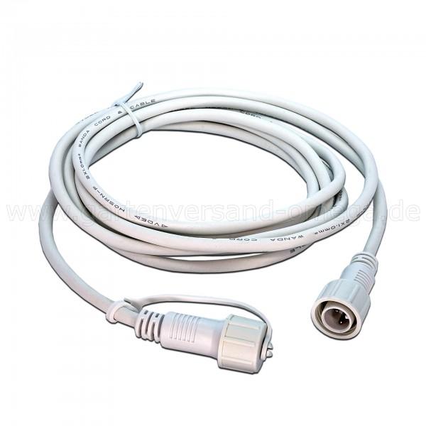 LED-System Profi Verlängerungskabel Weiß