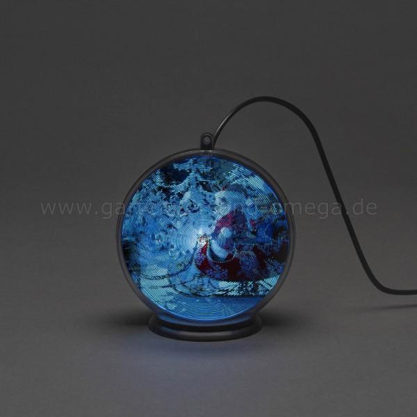 3D Hologrammkugel Winterlandschaft