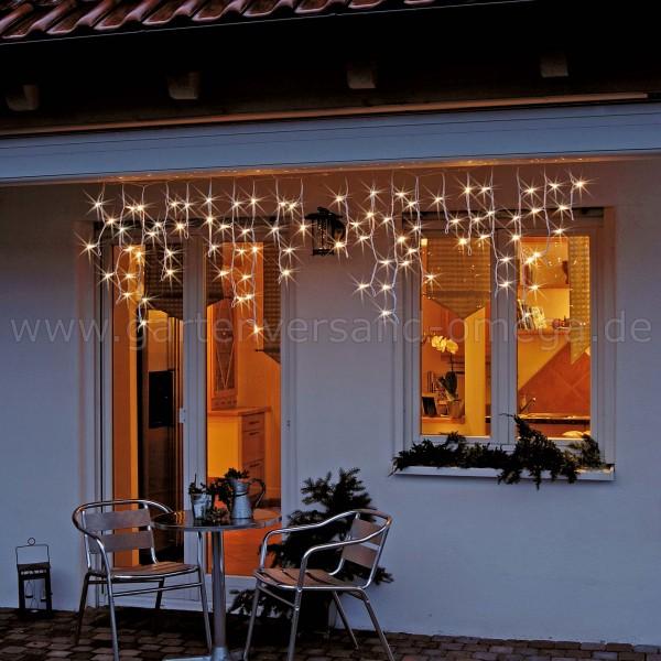 LED-System Profi Eislichtvorhang - Weihnachtsbeleuchtung für den Garten