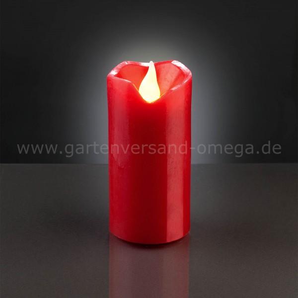 LED-Wachskerze Rot