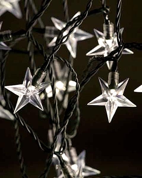 LED Acryl-Sternenkette