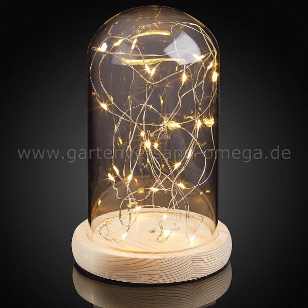 LED Glas-Glocke