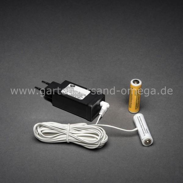 Netzadapter für Batterieartikel 2x Typ AA Mignon