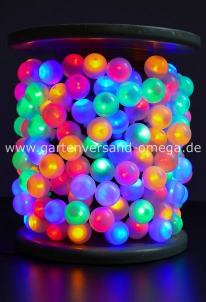LED-Perlenlichterkette auf Trommel - Bunt