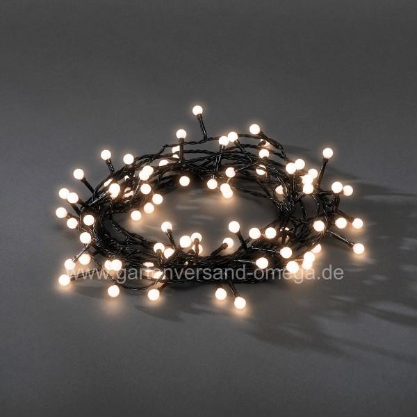 LED Kugeldioden-Lichterkette Warm-Weiß