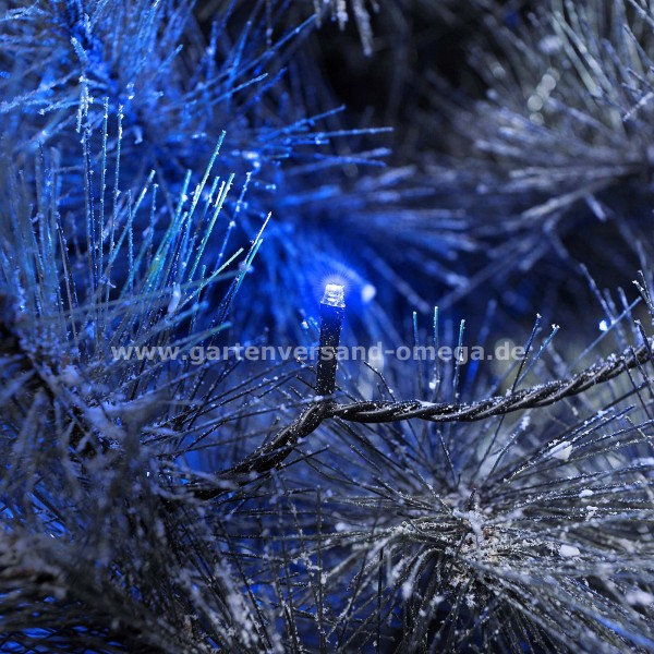 Blaue Weihnachtsbeleuchtung.Led Lichterkette Blau
