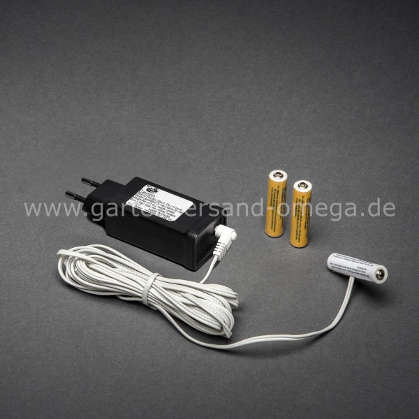 Netzadapter für Batterieartikel 3x Typ AAA Micro