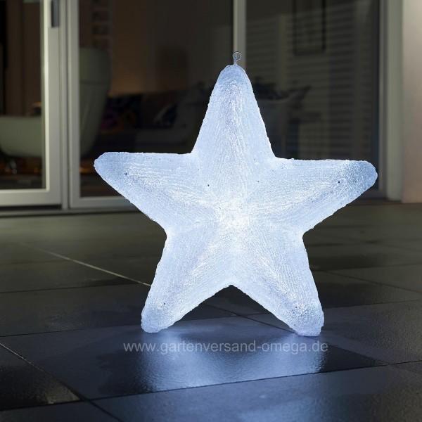 LED Acryl Stern mit Farbfunktionen 60cm