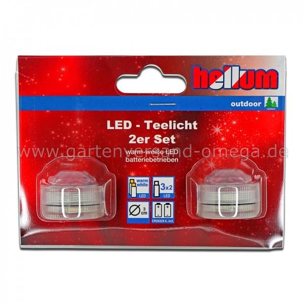LED-Teelichter für Außen