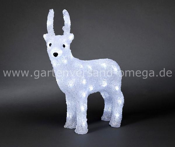 LED Acryl-Rentier Groß