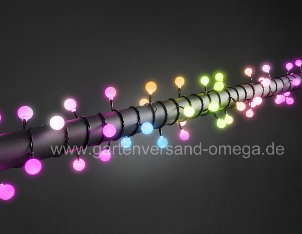 RGB-Farbwechsel-Lichterkette mit großen Dioden