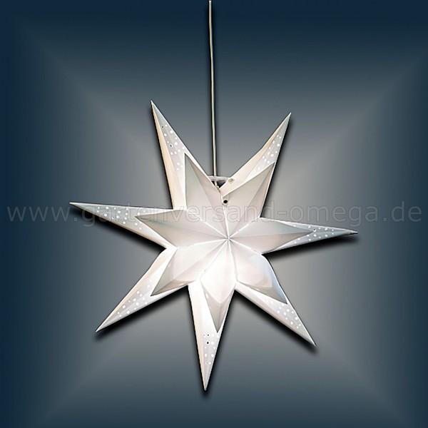 LED Outdoor-Stern Doppellagig 63cm - Weihnachtsstern Außen